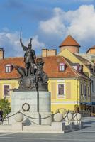 ドボー・イシュトバーン像