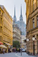 聖ペテロ聖パウロ教会と街並