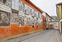 街並の壁 01881426112| 写真素材・ストックフォト・画像・イラスト素材|アマナイメージズ