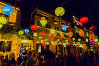 店ランタン祭り 01881426976| 写真素材・ストックフォト・画像・イラスト素材|アマナイメージズ