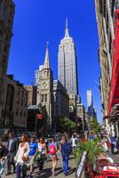 エンパイア・ステート・ビルと市街