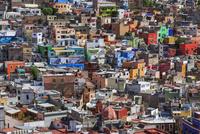 町並み,俯瞰,ピピラの丘から撮影 01888611890| 写真素材・ストックフォト・画像・イラスト素材|アマナイメージズ