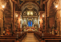 サン・ミゲル教区教会,内部