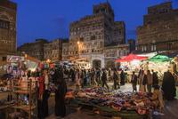 旧市街のスーク/夜景 01888612171| 写真素材・ストックフォト・画像・イラスト素材|アマナイメージズ