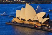 シドニー・オペラハウス 俯瞰 夕陽