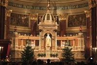 聖イシュトヴァーン大聖堂 クリスマスの深夜ミサ