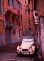 ニース旧市街にて  フランス