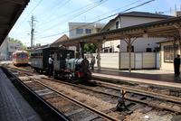 道後温泉駅とぼっちゃん列車