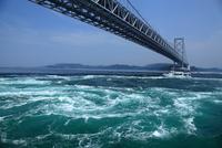 鳴門大橋,うず潮
