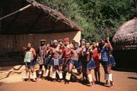ズール族のダンサー