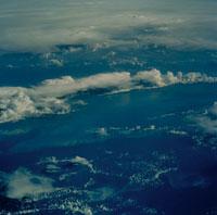 カリブ海上空の雷雲 01942000118| 写真素材・ストックフォト・画像・イラスト素材|アマナイメージズ