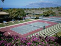 テニスコート  マウイ島 ハワイ