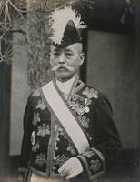 尾崎行雄の肖像写真