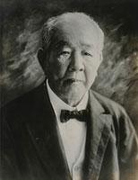 渋沢栄一の肖像写真