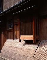 祇園の犬矢来のある家 京都