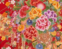花車の柄の打掛の一部分 02022026111| 写真素材・ストックフォト・画像・イラスト素材|アマナイメージズ