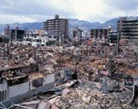 阪神大震災被災地 灘区 神戸市 兵庫県 02022030711| 写真素材・ストックフォト・画像・イラスト素材|アマナイメージズ
