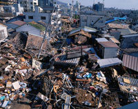 阪神大震災被災地 兵庫県 02022030712| 写真素材・ストックフォト・画像・イラスト素材|アマナイメージズ