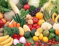 果実と野菜の集合