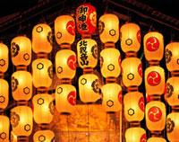 祇園祭の鉾の提灯 京都