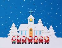 教会と7人のサンタ クラフト