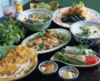 ベトナム料理(うどん・春巻き・炒め物など)
