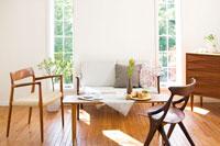 北欧家具のリビング