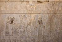 ペルセポリス遺跡 レリーフ 02022347276| 写真素材・ストックフォト・画像・イラスト素材|アマナイメージズ