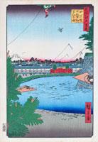 江戸百景 山下町日比谷外櫻田 02022347430| 写真素材・ストックフォト・画像・イラスト素材|アマナイメージズ
