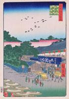江戸百景 上野山下 02022347475| 写真素材・ストックフォト・画像・イラスト素材|アマナイメージズ