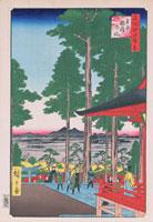 江戸百景 王子いなりの社 02022347484| 写真素材・ストックフォト・画像・イラスト素材|アマナイメージズ