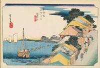 東海道五拾三次 神奈川 02022347531| 写真素材・ストックフォト・画像・イラスト素材|アマナイメージズ