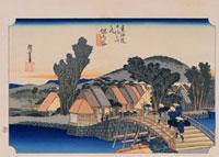 東海道五拾三次 保土ケ谷 02022347538| 写真素材・ストックフォト・画像・イラスト素材|アマナイメージズ