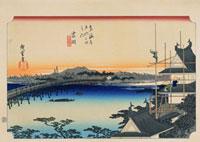 東海道五拾三次 吉田 02022347563| 写真素材・ストックフォト・画像・イラスト素材|アマナイメージズ