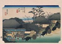 東海道五拾三次 大津 02022347579| 写真素材・ストックフォト・画像・イラスト素材|アマナイメージズ
