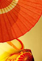 和傘と舞妓イメージ