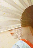 扇子と舞妓イメージ