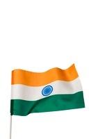 たなびくインド国旗