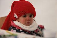 外国の子供 冬