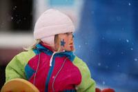 外国の子ども 冬