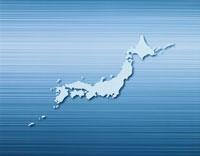 ステンレスの上の白の日本