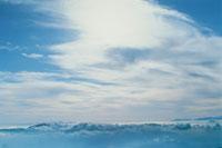 雲と乗鞍岳 長野県