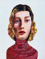 金髪の白人女性 イラスト 02112010003| 写真素材・ストックフォト・画像・イラスト素材|アマナイメージズ