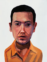 シャツを着た短髪の男性 イラスト