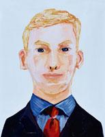 白人の外国人ビジネスマン イラスト 02112010032| 写真素材・ストックフォト・画像・イラスト素材|アマナイメージズ