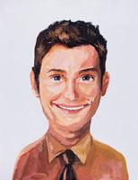 イラストポートレイト 男性 02112010056| 写真素材・ストックフォト・画像・イラスト素材|アマナイメージズ