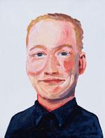 イラストポートレイト 男性 02112010059| 写真素材・ストックフォト・画像・イラスト素材|アマナイメージズ