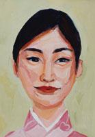 着物を着た日本人女性 イラスト 02112010120| 写真素材・ストックフォト・画像・イラスト素材|アマナイメージズ