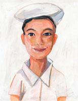 日本人の看護婦 イラスト