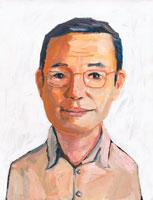 眼鏡をかけた日本人男性 イラスト